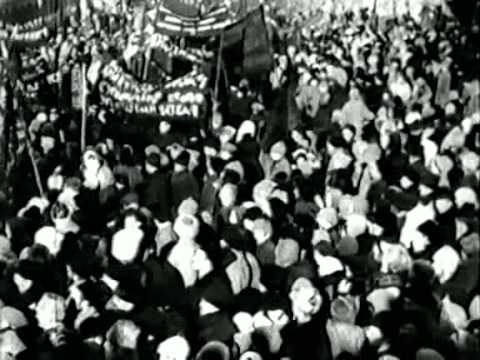 H κηδεία του Κροπότκιν τον Φλεβάρη του 1921 σε βίντεο