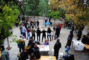 Γιορτή αλληλεγγύης στην πλατεία Παπανικολάου