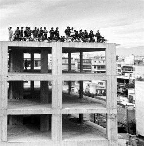Οικοδομή στο Αιγάλεω (δεκαετία '70)